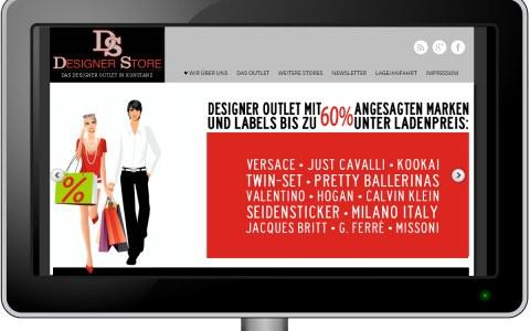 Website: DESIGNER STORE Konstanz
