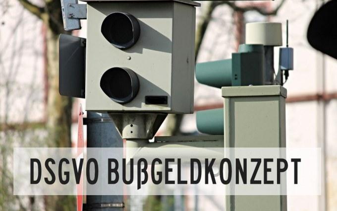 DSGVO-Bußgeldkonzept